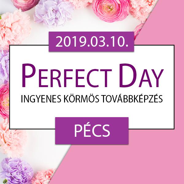 Ingyenes körmös továbbképzés – Perfect Day – Pécs, 2019.03.10