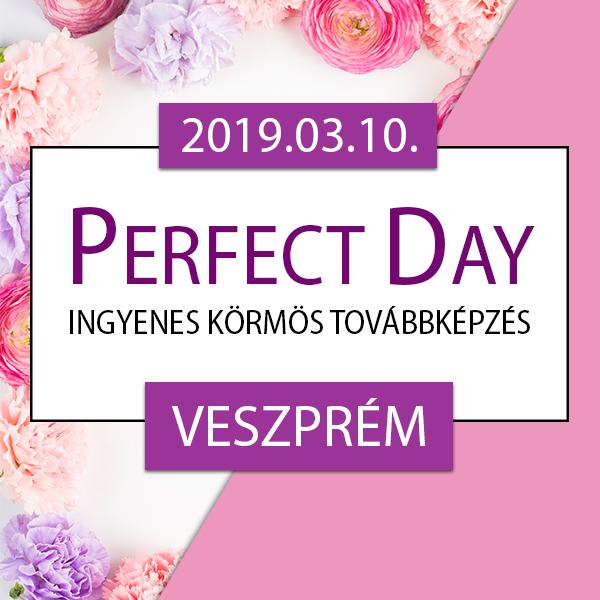 Ingyenes körmös továbbképzés – Perfect Day – Veszprém, 2019.03.10