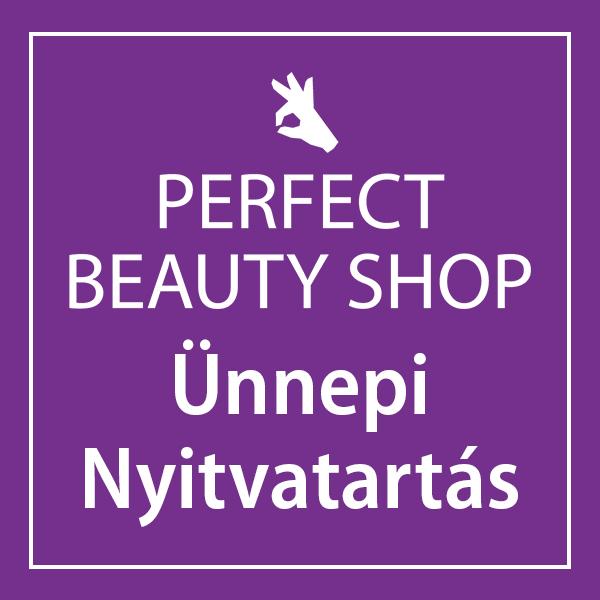 Ünnepi nyitvatartás – Perfect Beauty Shop