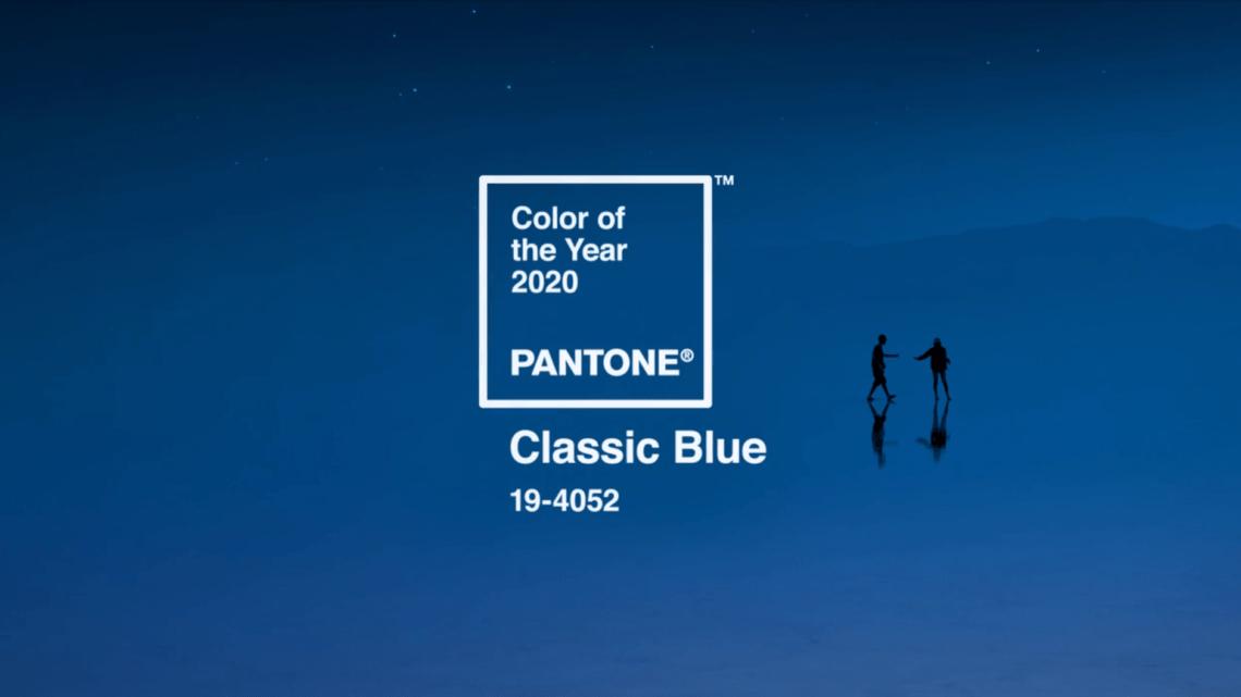Klasszikus kék lett 2020-ban az Év Színe!